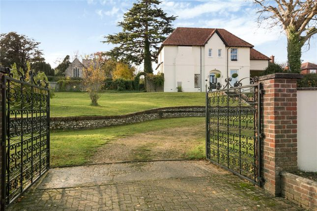 Thumbnail Detached house for sale in Chapel Street, Milborne St. Andrew, Blandford Forum