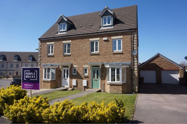 Thumbnail Semi-detached house for sale in Brook Rise, Blackwood