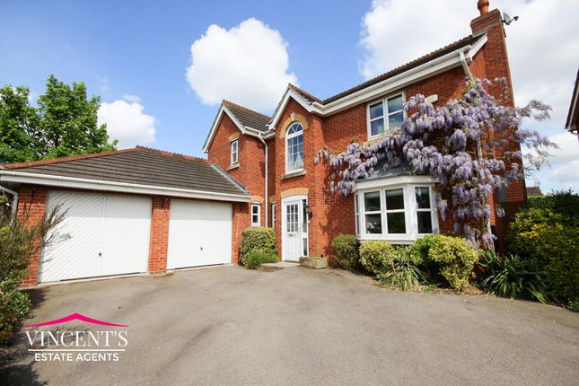 Thumbnail Detached house for sale in Shipman Road, Leicester