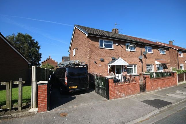 Thumbnail Semi-detached house for sale in Gorse Drive, Little Hulton, Manchester