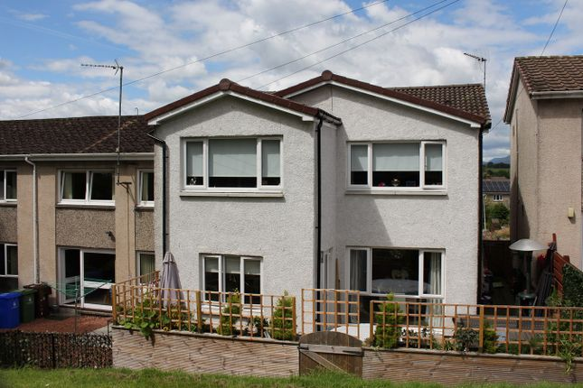 Thumbnail End terrace house for sale in Landrick Avenue, Dunblane