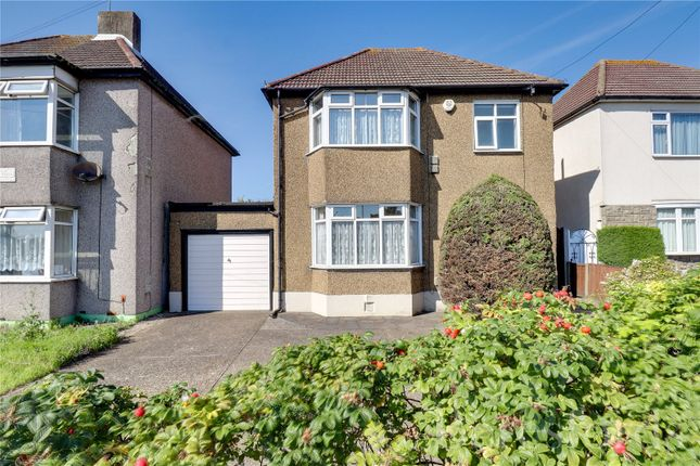 Thumbnail Detached house for sale in Colchester Road, Harold Park, Romford
