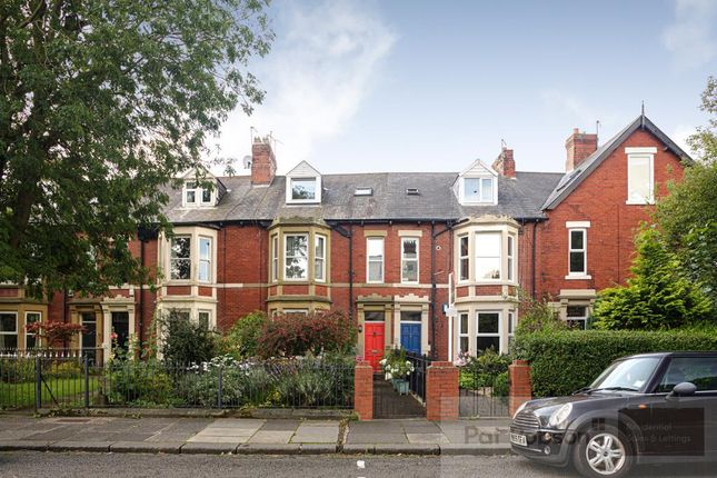 Thumbnail Terraced house for sale in Queens Road, Jesmond, Newcastle Upon Tyne