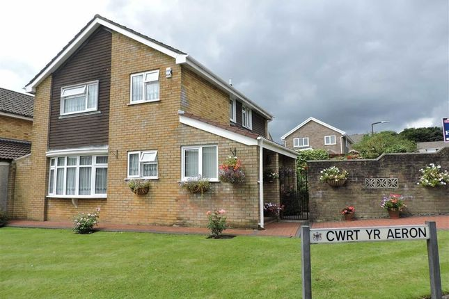 Thumbnail Detached house for sale in Cwrt Yr Aeron, Parc Gwernfadog, Cwmrhydyceirw