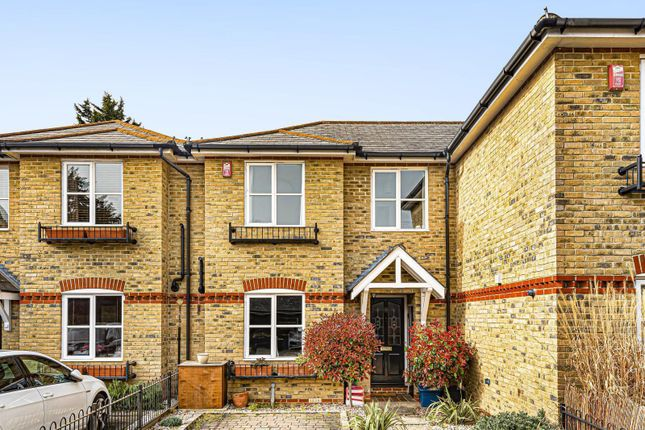 Thumbnail Terraced house to rent in Saddlers Mews, St. Johns Road, Hampton Wick