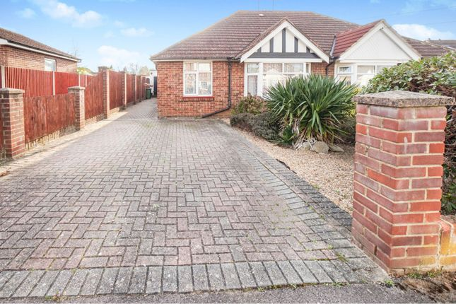 Thumbnail Semi-detached bungalow for sale in Long Close Road, Hedge End, Southampton