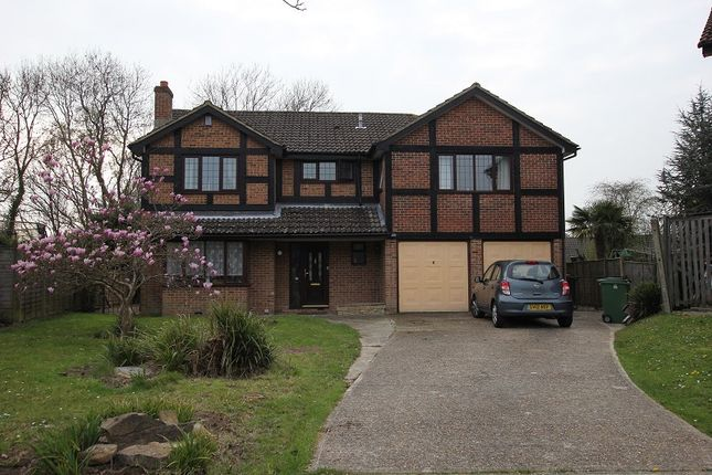 Thumbnail Detached house for sale in Highview Close, St. Leonards-On-Sea, East Sussex.