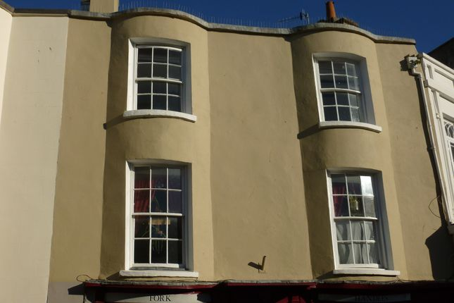 Thumbnail 1 bed duplex to rent in Regent Street, Teignmouth