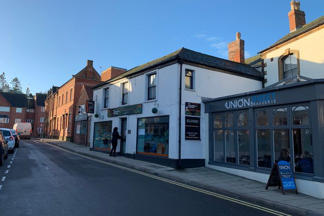 Thumbnail Retail premises for sale in 6-8 Union Street, Yeovil