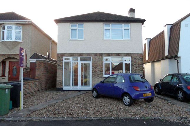 Thumbnail Detached house to rent in Francis Close, Ewell, Epsom