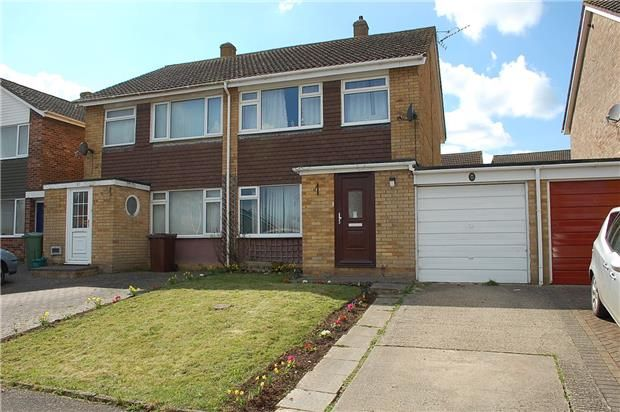 Thumbnail Semi-detached house to rent in Longfellow Drive, Abingdon, Oxfordshire