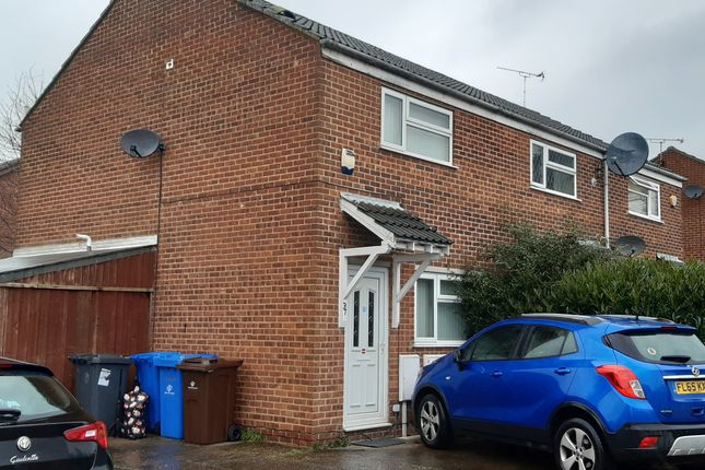 Thumbnail Semi-detached house to rent in Ettrick Drive, Sinfin, Derby