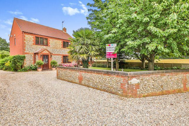 Thumbnail Detached house for sale in Hares Close, Little Snoring, Fakenham