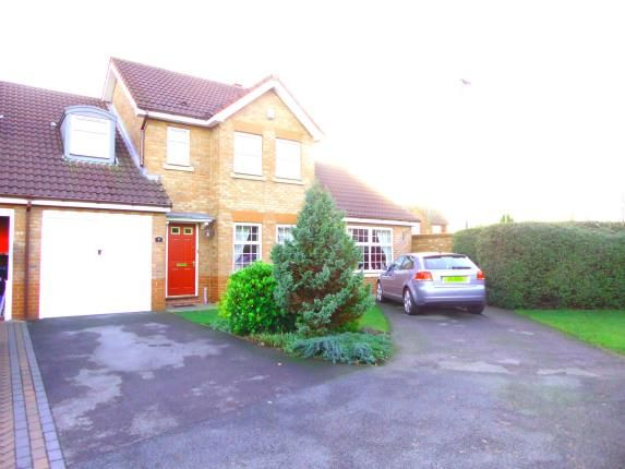 Thumbnail Semi-detached house for sale in St. Georges Close, Appleton, Warrington, Cheshire