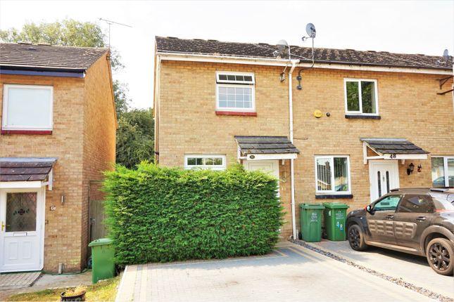 Thumbnail End terrace house for sale in Latimer Drive, Basildon