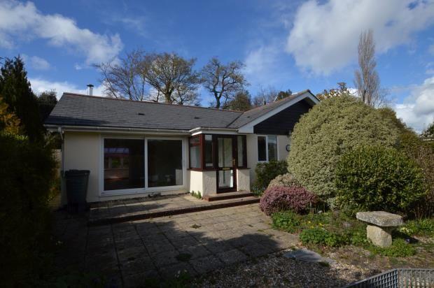 Thumbnail Detached bungalow for sale in Ilex Close, Shillingford St. George, Exeter, Devon