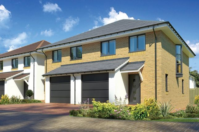 Thumbnail Semi-detached house for sale in Plot 16, Cobbs Beck, Highcliffe Christchurch, Dorset