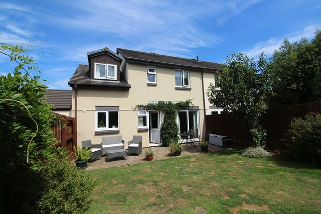 Thumbnail Semi-detached house for sale in Wesley Way, Alphington, Exeter