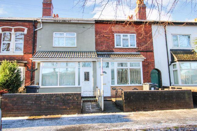Thumbnail Terraced house for sale in Hob Moor Road, Birmingham