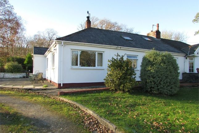 Thumbnail Semi-detached bungalow for sale in Caemaen, Bryncoch, Neath, West Glamorgan