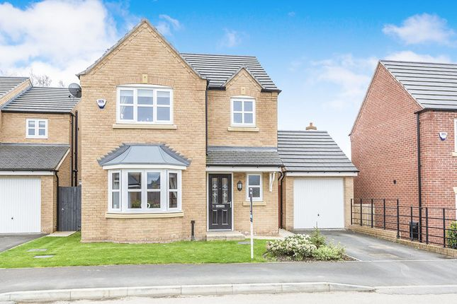 Thumbnail Detached house for sale in Central Park Road, Lostock Hall, Preston