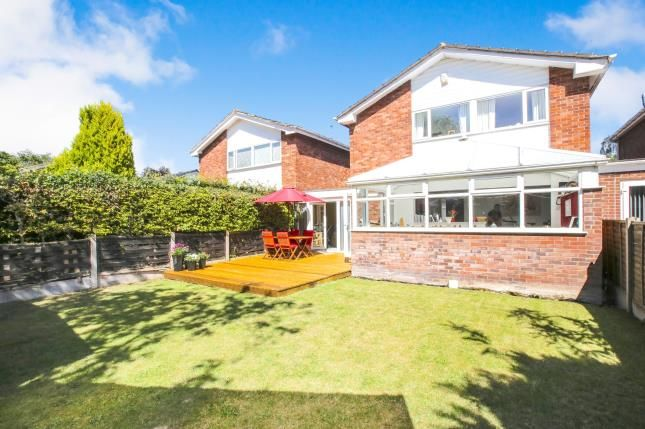 Thumbnail Link-detached house for sale in Lyndhurst Close, Wilmslow, Cheshire, .
