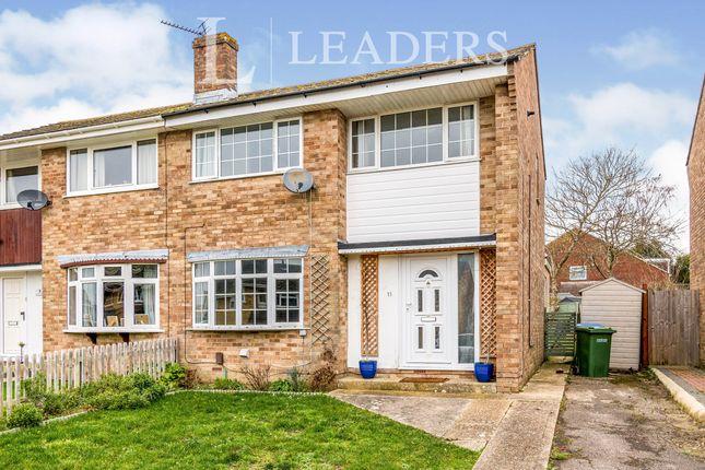 3 bed semi-detached house to rent in Winnington, Fareham PO15