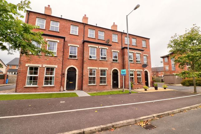 Thumbnail 4 bed town house for sale in Linen Road, Bangor