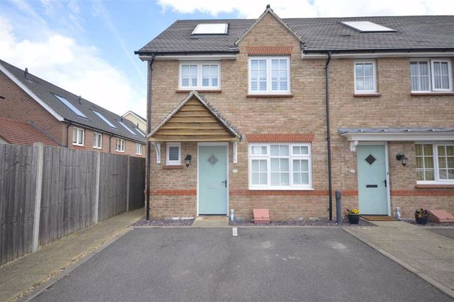 Thumbnail End terrace house to rent in Magdalen Gardens, Maidstone, Kent
