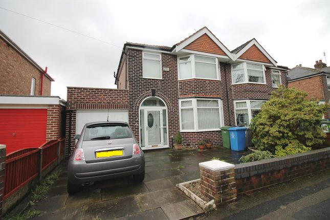 Thumbnail Semi-detached house to rent in Salisbury Road, Urmston, Manchester