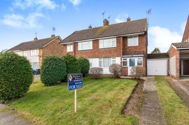 Thumbnail Semi-detached house for sale in Staleys Road, Borough Green, Sevenoaks