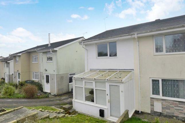 Thumbnail End terrace house for sale in Oaklands Park, Buckfastleigh, Devon