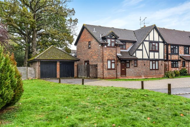 Thumbnail Detached house for sale in Bacon Close, College Town, Sandhurst, Berkshire