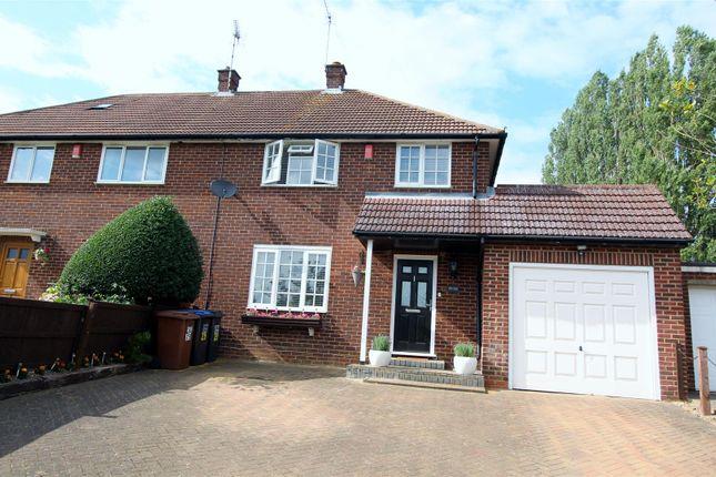 Thumbnail Semi-detached house for sale in Bulls Lane, Welham Green, Hatfield