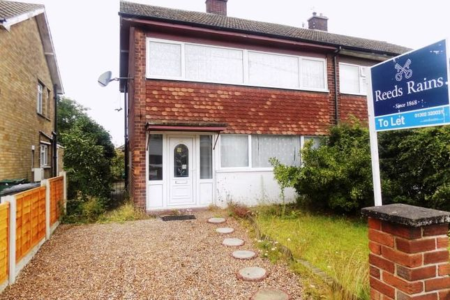 Thumbnail Semi-detached house to rent in Palm Avenue, Armthorpe, Doncaster