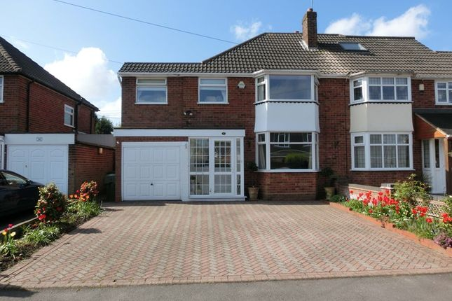 Thumbnail Semi-detached house for sale in Ann Road, Wythall, Birmingham