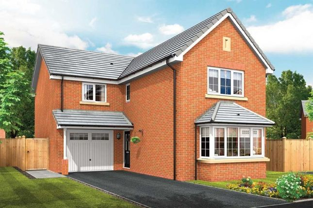 Thumbnail Detached house for sale in Squirrels Chase Off Chestnut Avenue, Shavington, Crewe