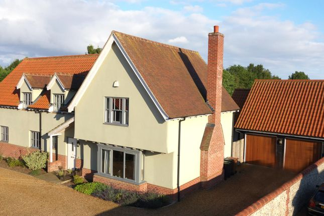 Thumbnail Detached house for sale in Cherry Tree Close, Wortham, Diss