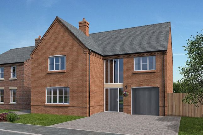 Thumbnail Property for sale in Plot 16, Mill View Gardens, Austrey, Warwickshire