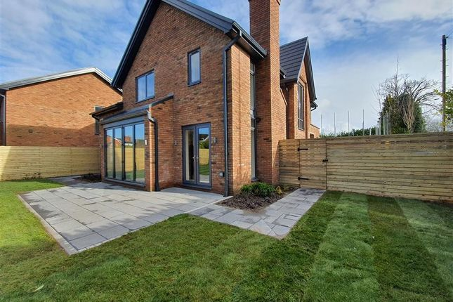 Rear Elevation of Middlewich Road, Holmes Chapel, Crewe CW4