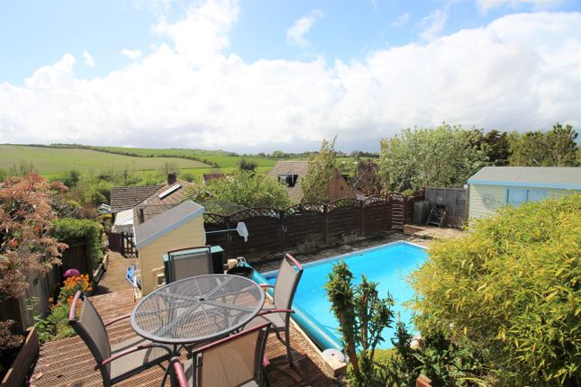 Thumbnail Detached bungalow for sale in Newbury Road, Lambourn, Hungerford