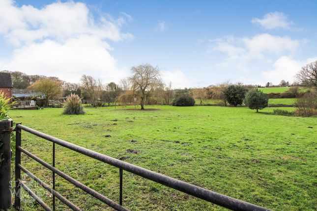 Thumbnail Detached bungalow for sale in Church Lane, Haddiscoe, Norwich (Between Gorleston & Beccles)