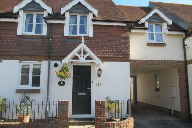 Thumbnail Terraced house to rent in Barneys Close, Charmouth, Bridport