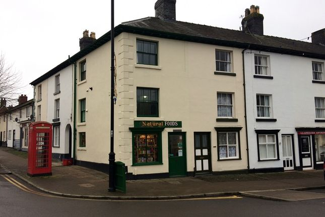 Thumbnail Retail premises for sale in Great Oak Street, Llanidloes