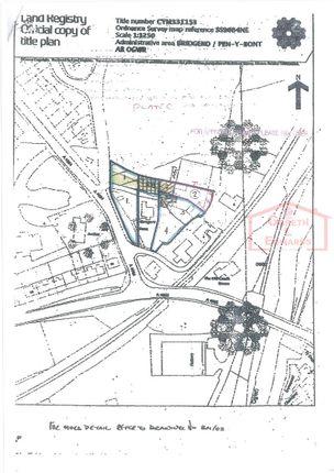 Land for sale in Abergarw Farm Site, Brynmenyn, Bridgend.