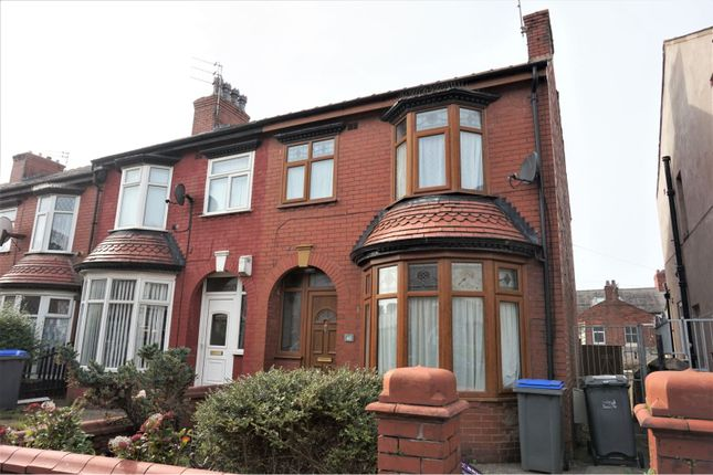 Thumbnail End terrace house to rent in London Road, Blackpool