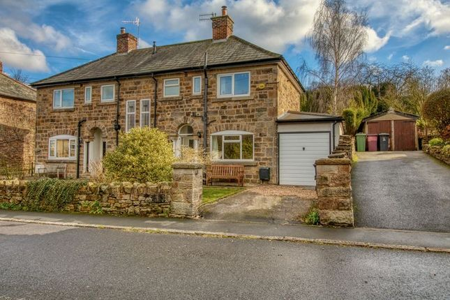 Thumbnail Semi-detached house for sale in Riverside Crescent, Holymoorside, Chesterfield