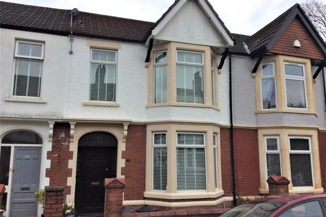 Thumbnail Terraced house for sale in Palace Avenue, Llandaff, Cardiff