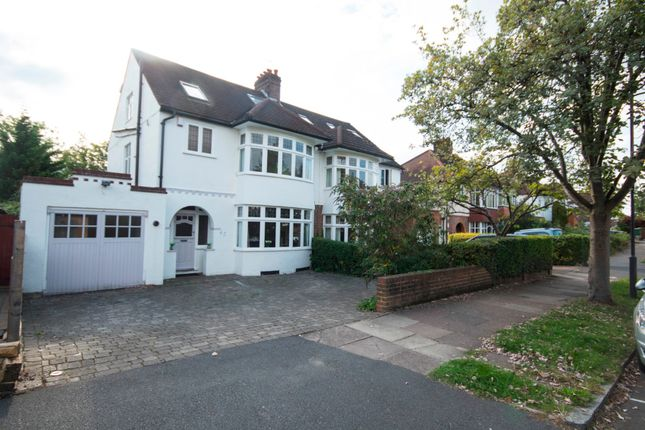 Thumbnail Semi-detached house for sale in Grange Gardens, Pinner, Middlesex