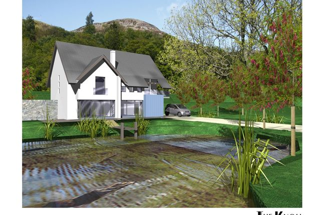 Thumbnail Detached house for sale in The Knoll, Glentarken Park, St Fillans